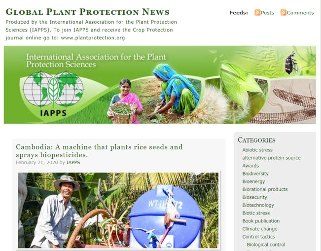 Global Plant Protection News